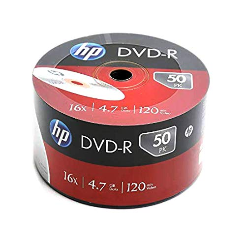 HP DVD-R 16X 4.7GB【100片裝】可燒錄空白光碟