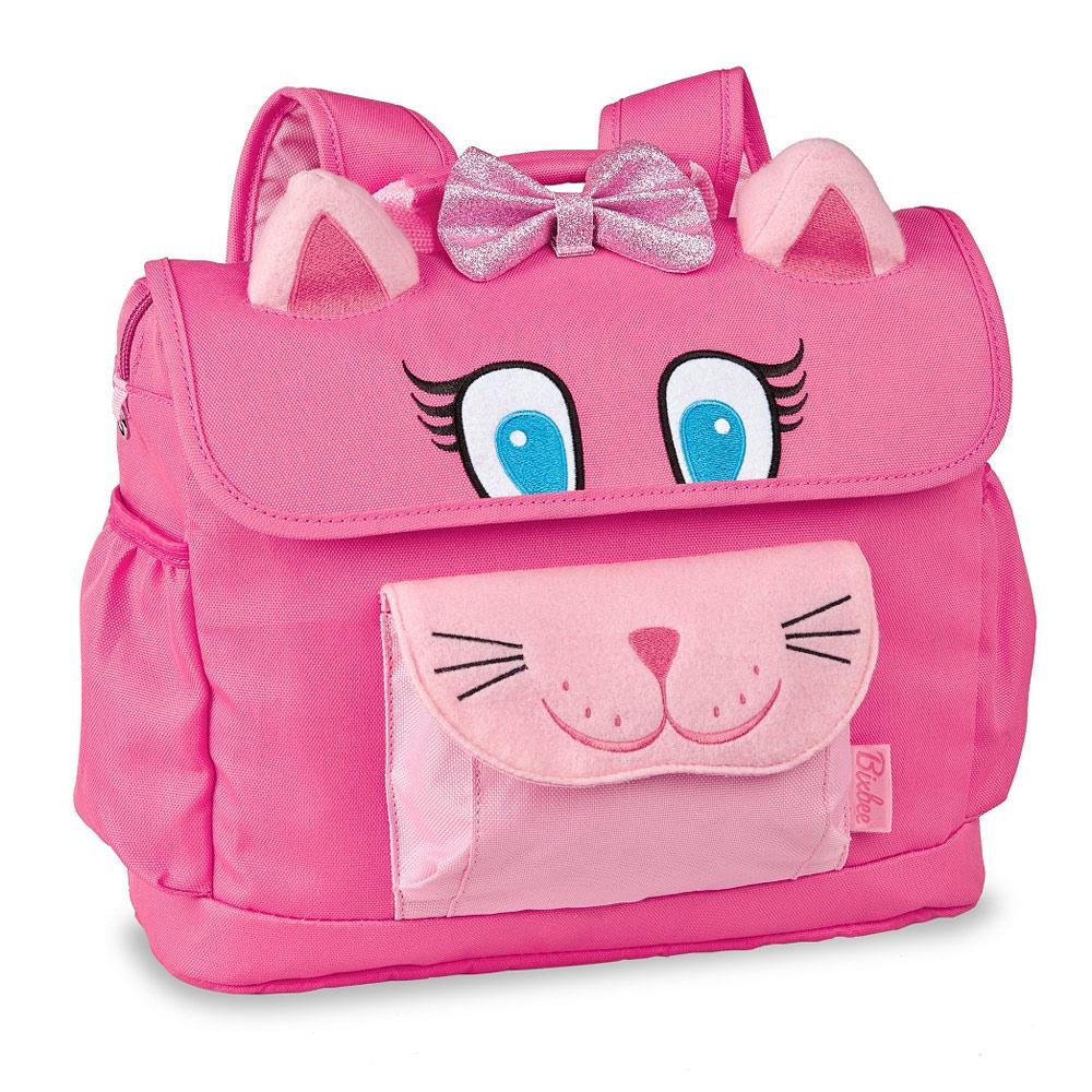 美國Bixbee 3D動物童趣系列 甜美粉貓咪小童背包