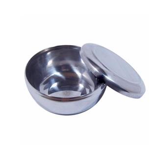 韓國進口304不鏽鋼碗(薄款) 5個/ 組(均附碗蓋) // 韓國食堂及家庭最普遍的不鏽鋼碗 304