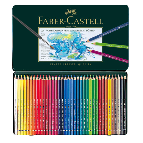 faber-castell輝柏 artists藝術家級水性色鉛筆36色117536
