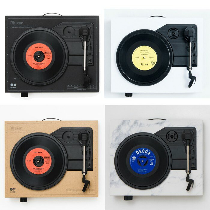 ⧳梁山樂客⧳ SpinBox 黑膠唱機 - 簡約白(可搭配Kutter刷碟套裝)