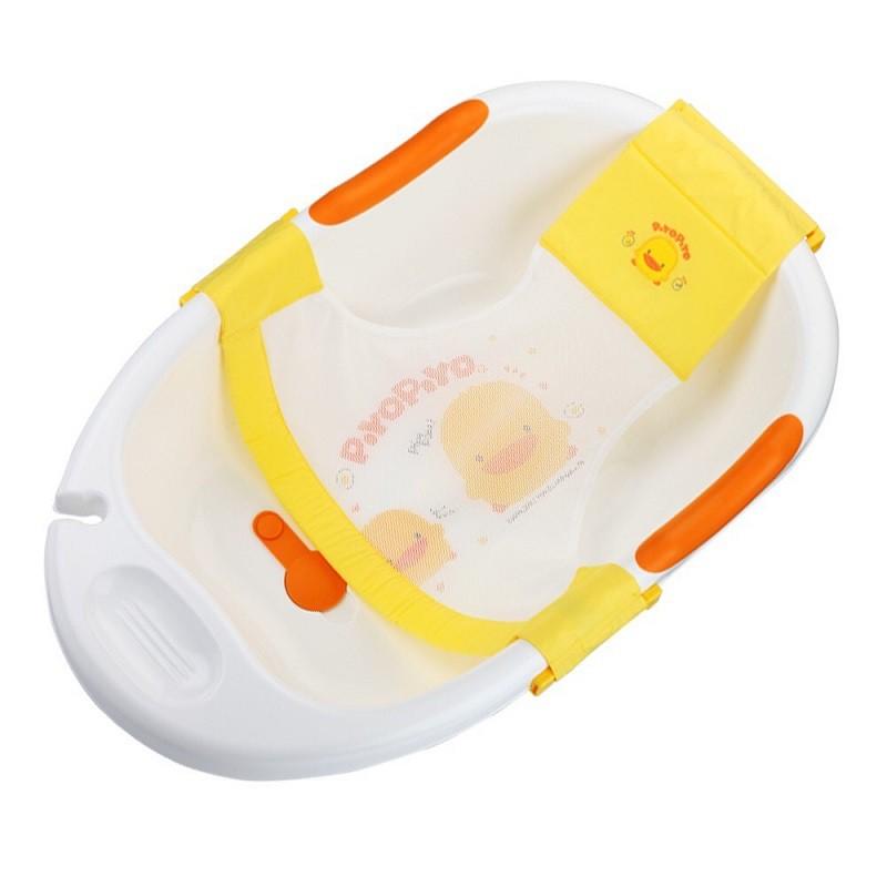 黃色小鴨PiyoPiyo 豪華型沐浴盆+沐浴網床