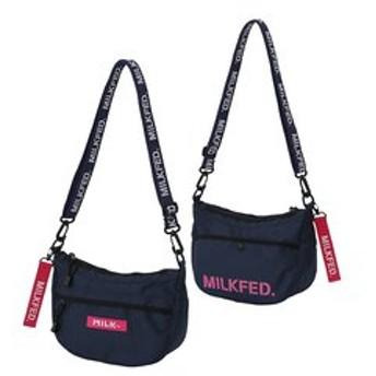 【MILKFED.:バッグ】【定番】ROUND SHOULDER BAG SMALL