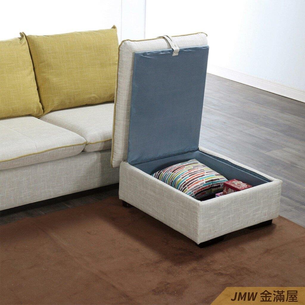 [免運] L型沙發 貓抓皮 布沙發 沙發床 沙發椅【金滿屋】木沙發 123沙發-A334-2