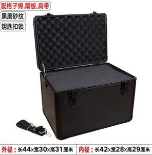 鋁合金工具箱大小號手提箱設備儀器箱文件模型收納箱戶外箱紋繡箱