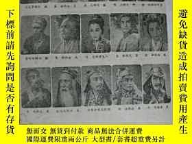 二手書博民逛書店罕見戲單:膽劍篇---北京人民藝術劇院Y15011