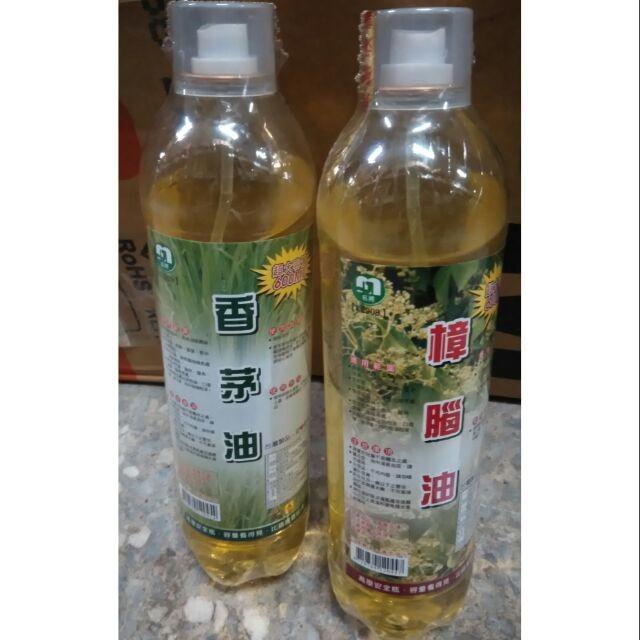 no 五金百貨 600ml 香茅油 樟腦油