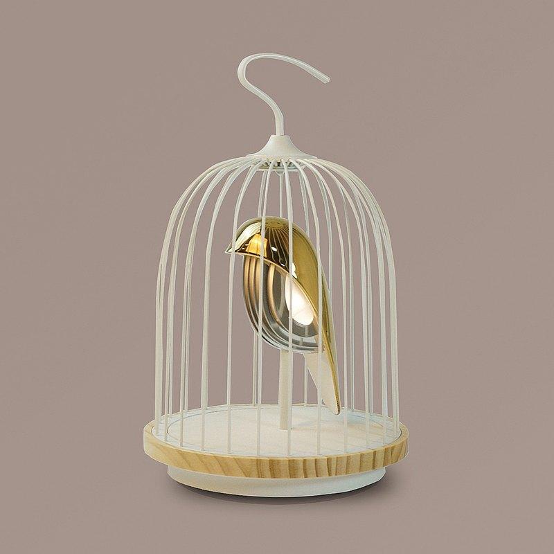 JinGoo無線音響燈-白金鳥