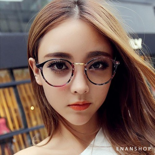橢圓平光眼鏡 觸及真心 劉仁娜同款 中性男女 可黑框眼鏡 復古眼鏡 惡南宅急店0023m