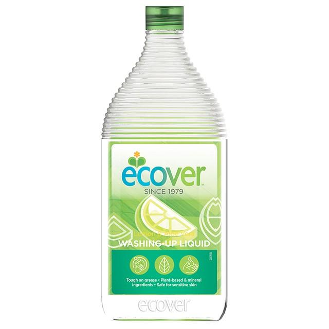 ecover宜珂親膚洗碗精-萊姆蘆薈 450ml (也適用於嬰幼兒餐具、奶瓶、奶嘴)