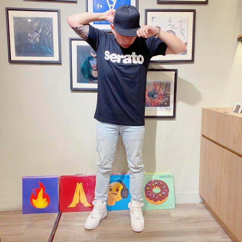 ⧳梁山樂客⧳ Serato DJ T恤