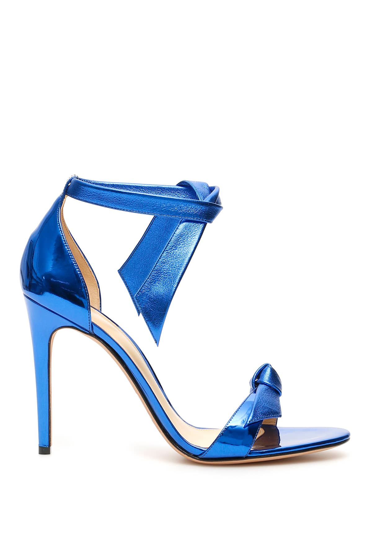 ALEXANDRE BIRMAN LOVELY CLARITA SANDALS 100 38 Blue Leather
