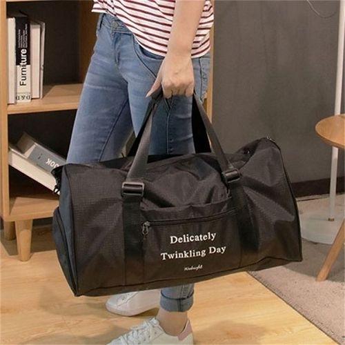 多功能健身包 (大號50X27X24cm) 單肩旅行袋 旅行包 防水手提包 行李袋