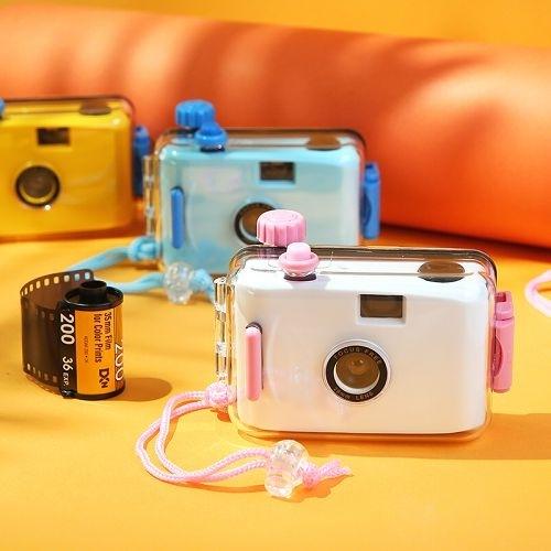 ins復古膠片相機 LOMO膠卷相機 防水照相機 (不含底片)