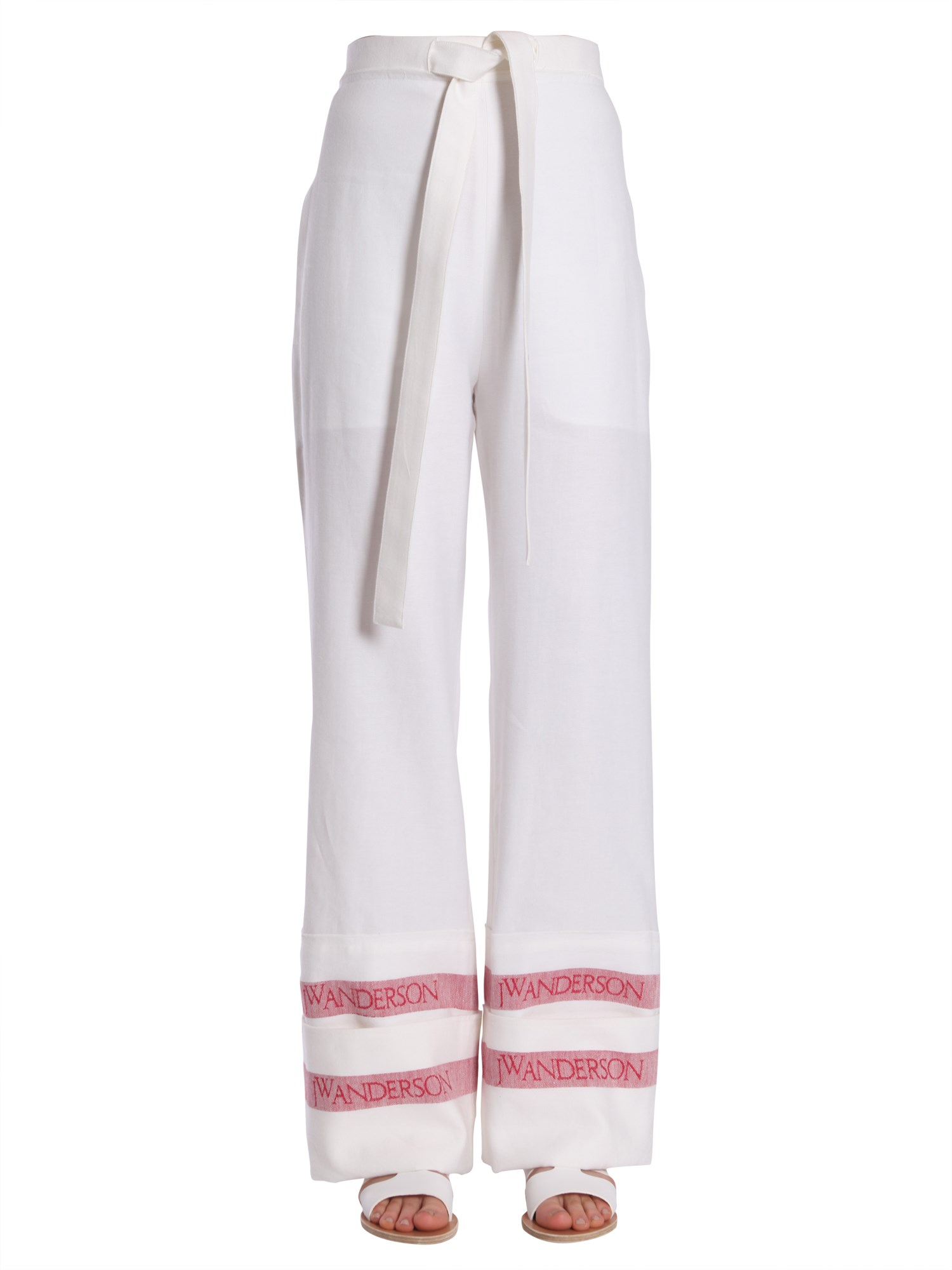 jw anderson wide trousers