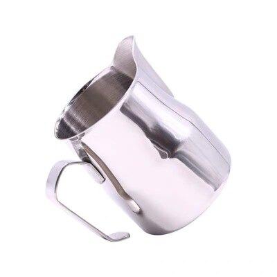 拉花杯 咖啡打奶缸 不銹鋼拉花缸 花式咖啡打奶杯 義大利大肚奶泡缸500ml『XY3554』