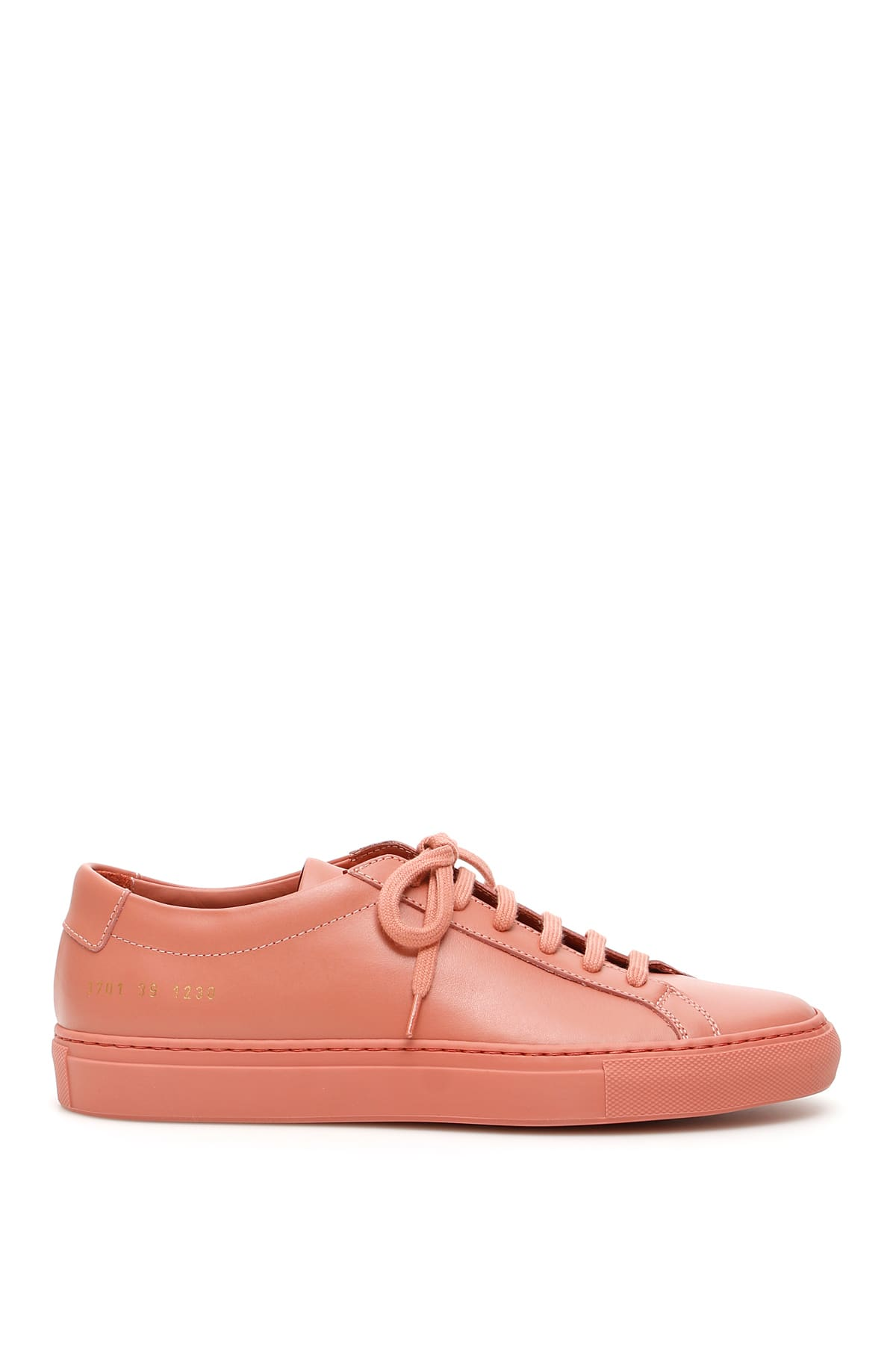 COMMON PROJECTS ORIGINAL ACHILLES SNEAKERS 39 Pink Leather