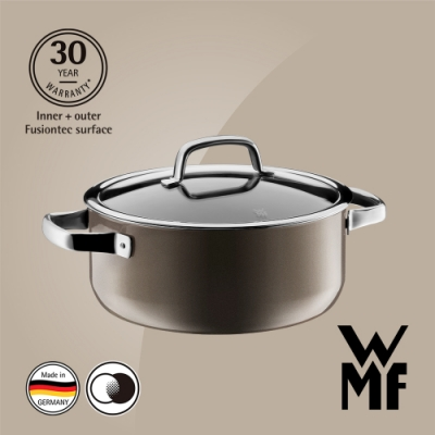 德國WMF Fusiontec 低身湯鍋24cm 4.4L
