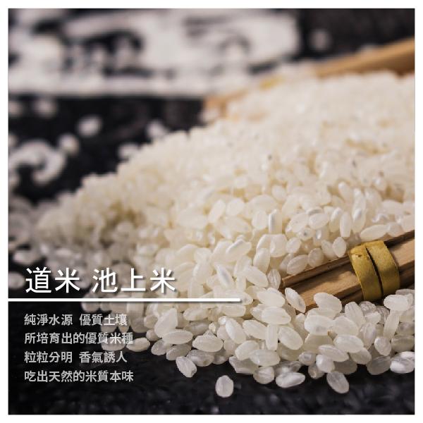 【莼品小舖】道米 池上米 2kg/包 10包/箱