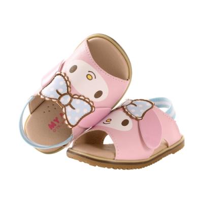 魔法Baby手工寶寶鞋 台灣製Hello kitty授權正版幼兒止滑涼鞋sk1018