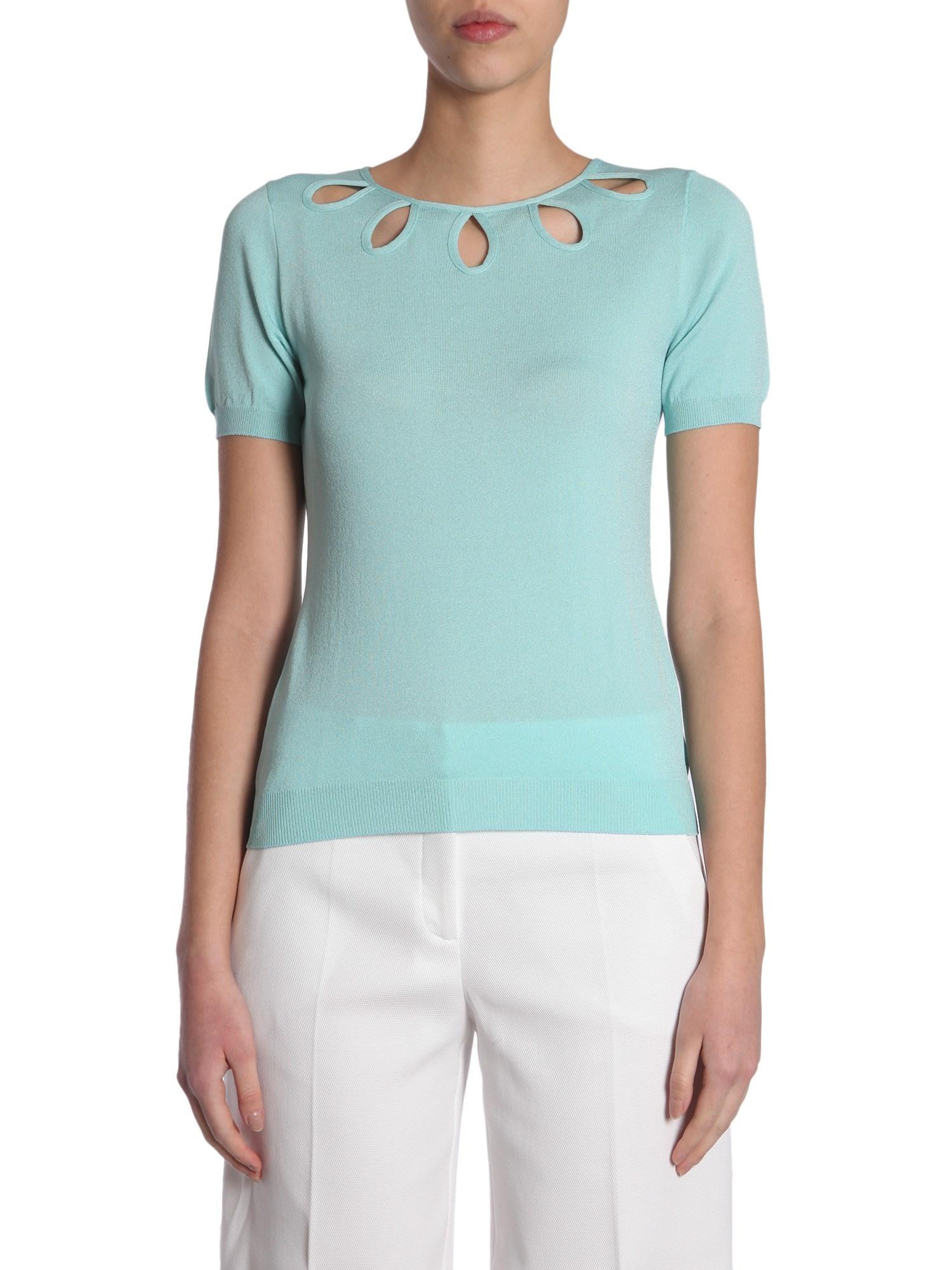 boutique moschino short sleeve jumper