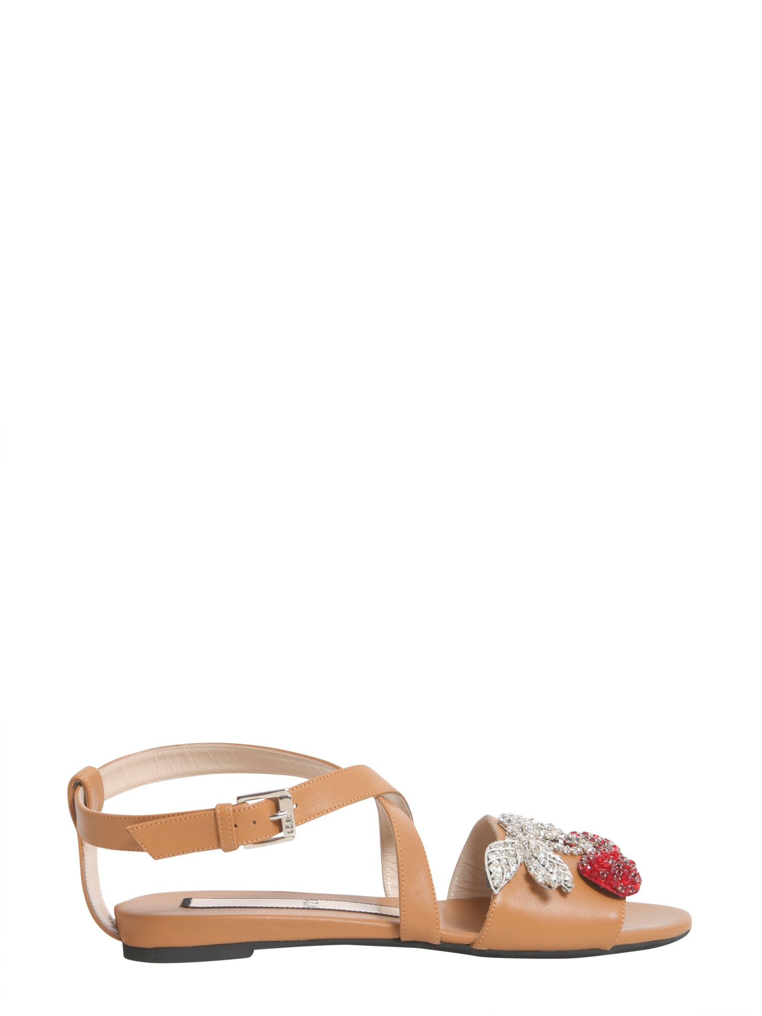 n°21 cherry pin sandals