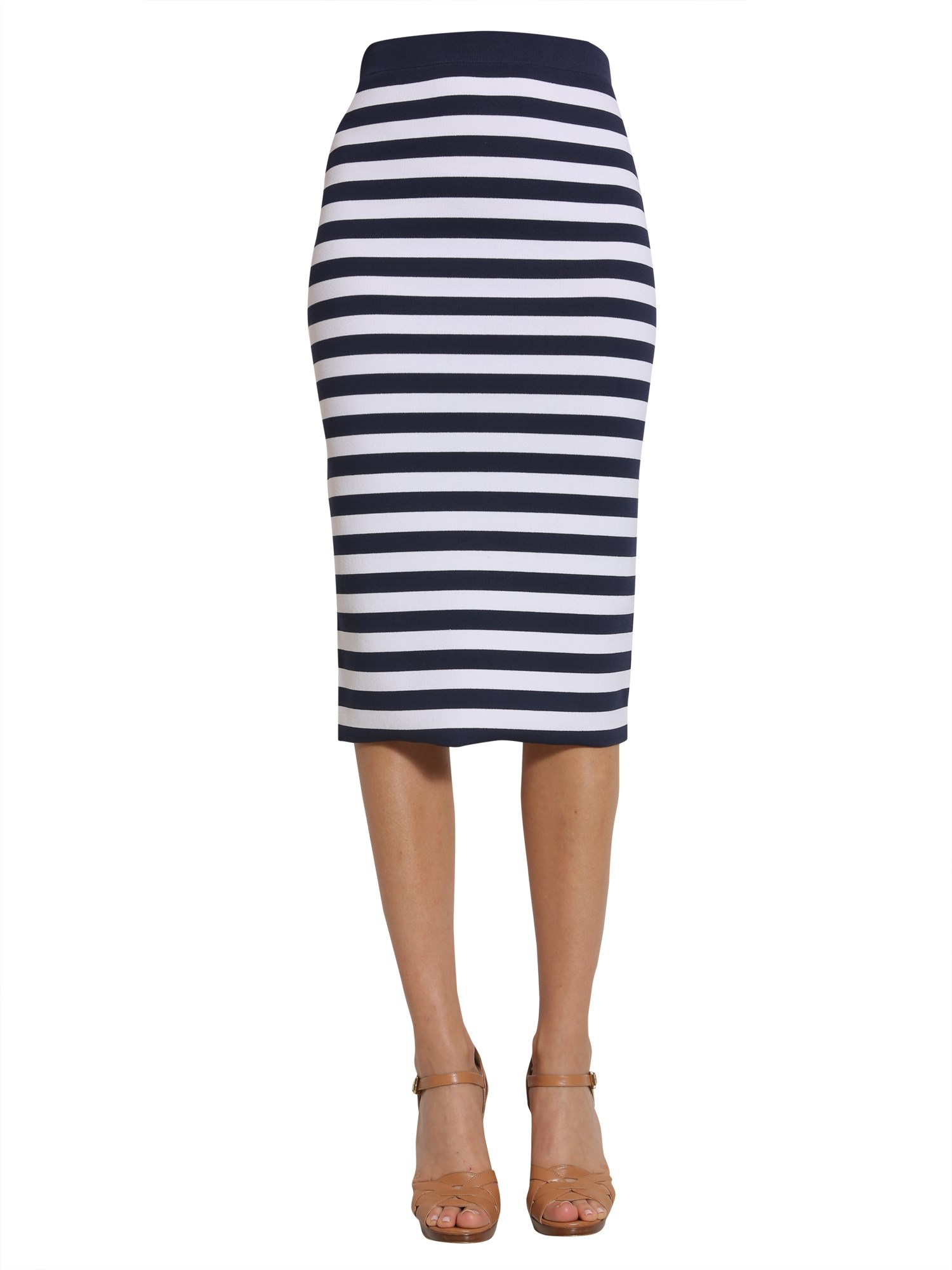 michael by michael kors striped skirt