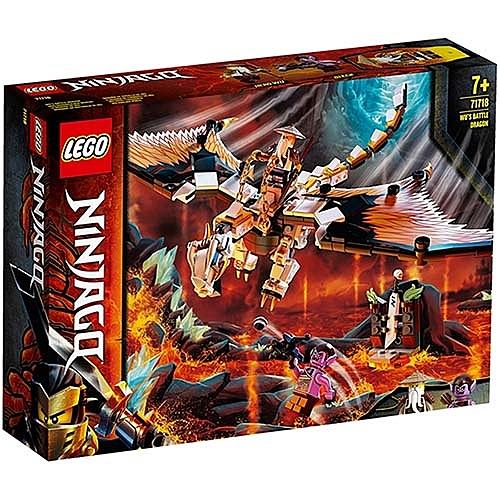 樂高積木 LEGO《 LT71718 》 NINJAGO 旋風忍者系列 - 吳大師的戰鬥龍 / JOYBUS玩具百貨
