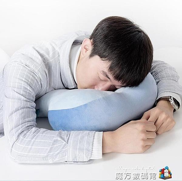 午睡神器抱枕靠背三合一辦公室午睡枕桌上兩用趴趴枕小學生趴睡枕 聖誕節全館免運