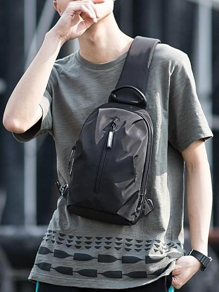 現貨 胸包時尚男包潮牌跨包包單肩包休閒斜背包個性運動小背包