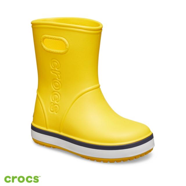 Crocs卡駱馳 (童鞋) 卡駱班兒童雨靴 205827-734