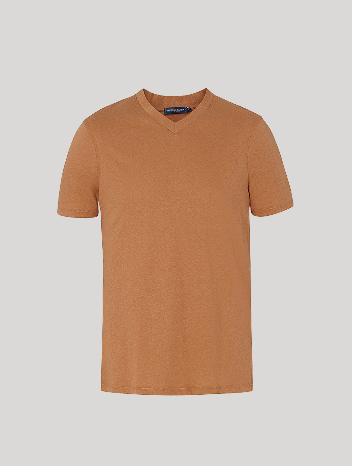 Victor T-Shirt Faded Chestnut M