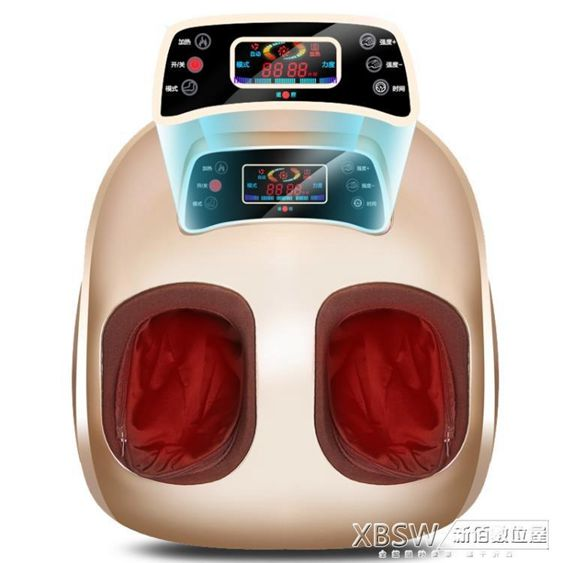 港德足療機全自動按摩腳部足部足底腳底穴位揉捏腿部按摩儀器家用CY