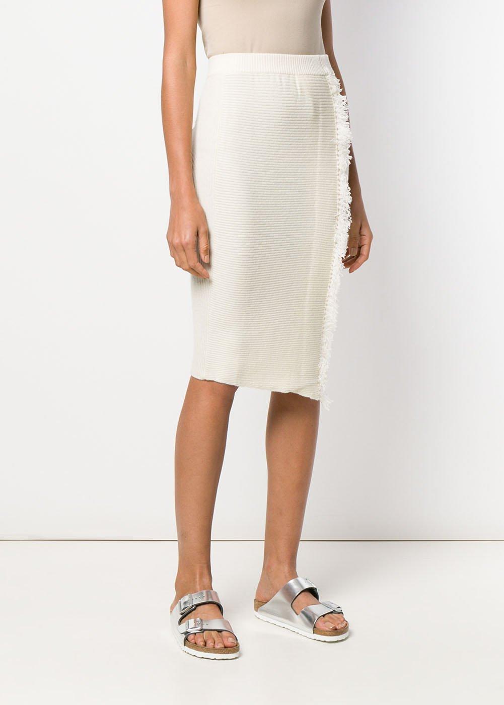 Thirtyfour Knit Skirt - Medium / Ivory