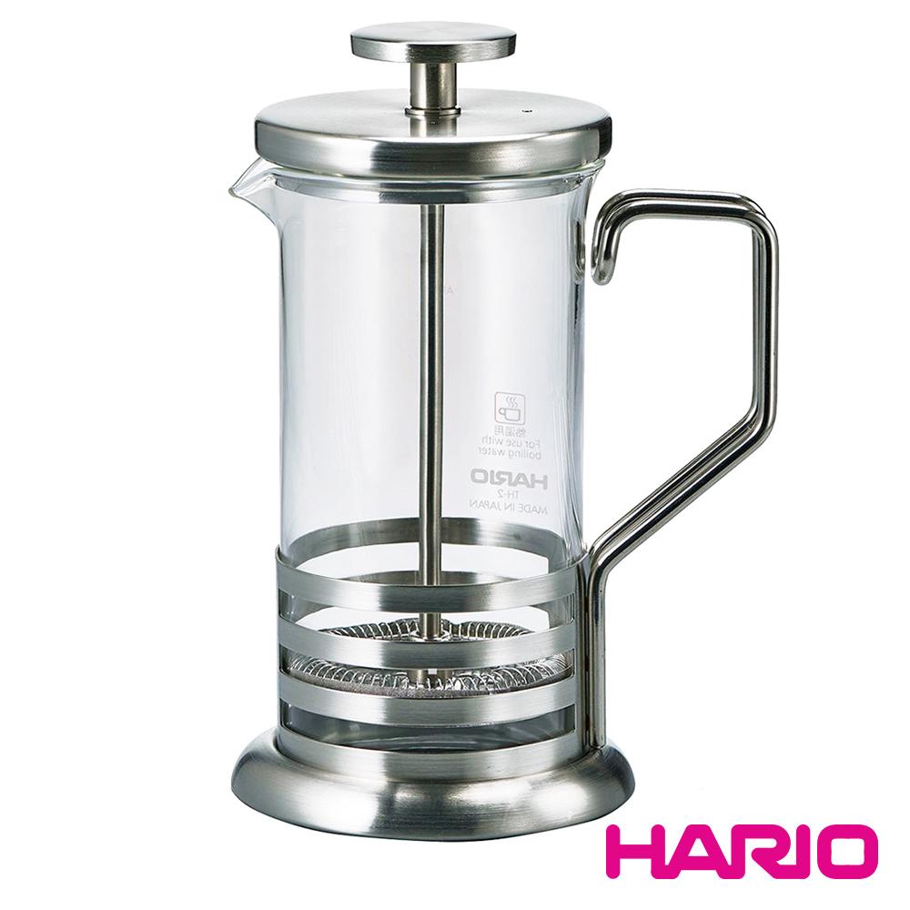 HARIO 霧面流線濾壓壺300ml / THJ-2-HSV