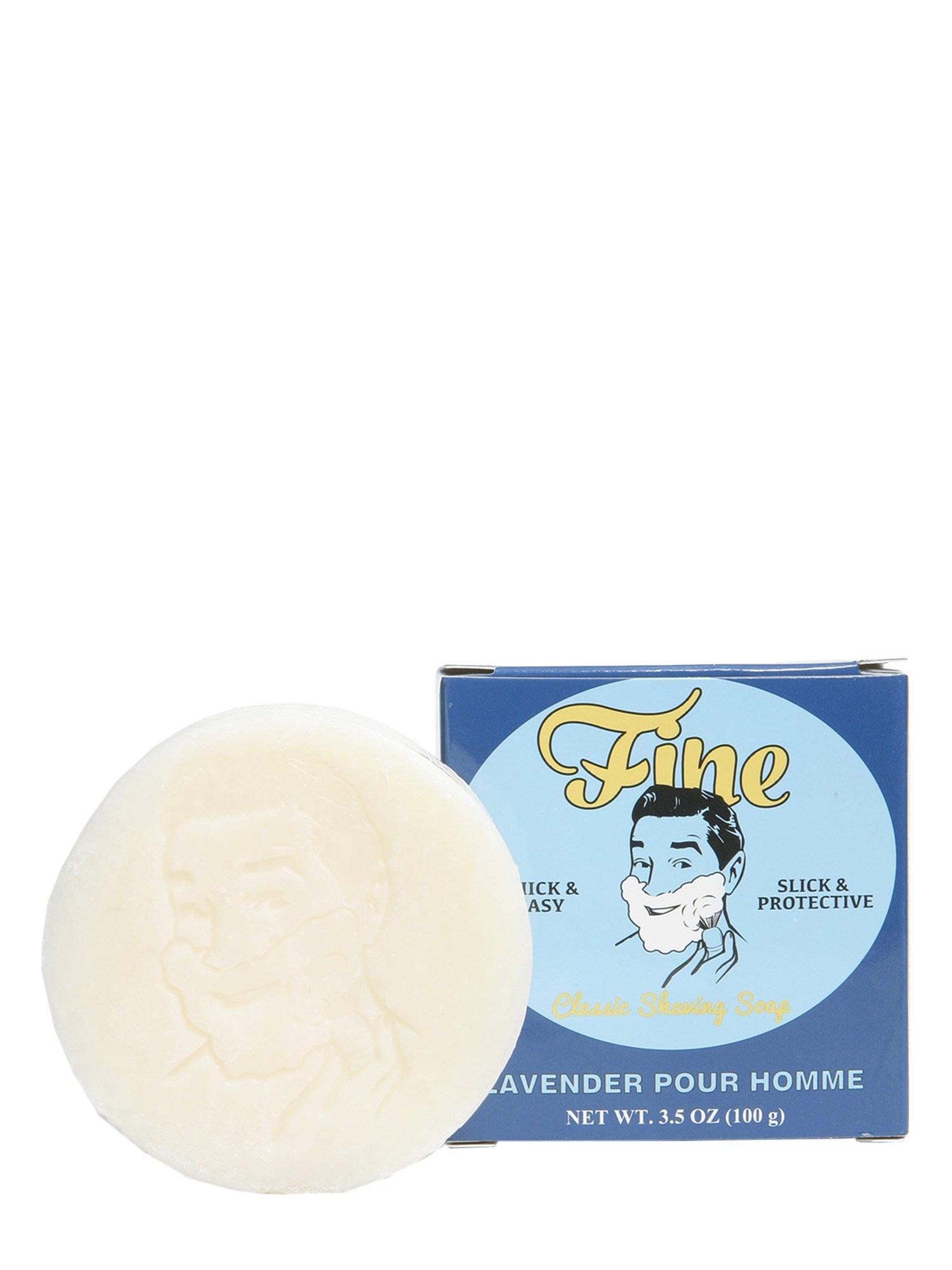 fine accoutrements shaving soap lavender