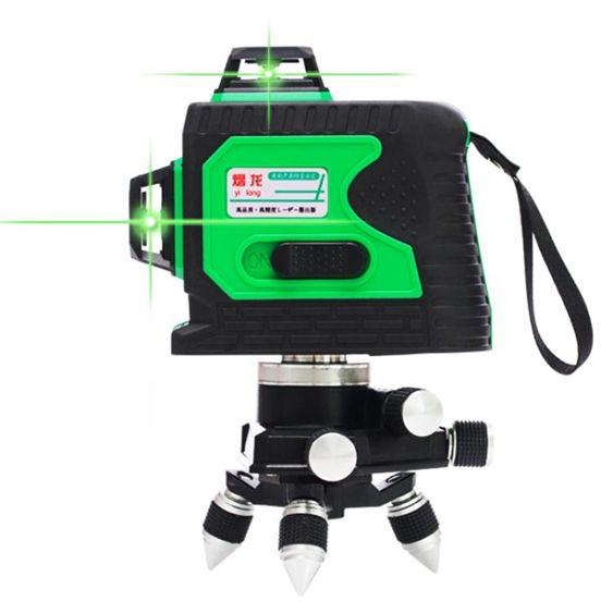 3D貼牆儀12線水平儀綠光高精度自動打線8線綠光鐳射LD藍光平水儀MBS