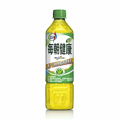 每朝健康綠茶(650mlx24入)