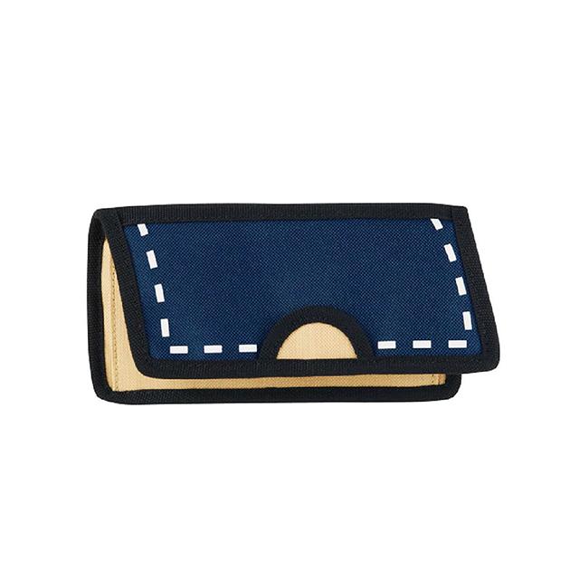 JumpFromPaper 2D卡通包 經典藍色鎂光燈長夾