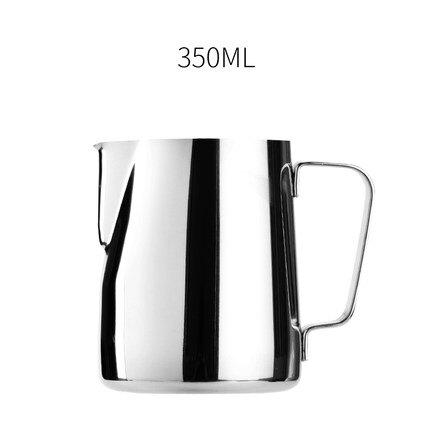 拉花杯 啡憶 尖嘴拉花杯加厚不銹鋼拉花缸花式咖啡器具 咖啡機配套奶泡杯『XY3545』