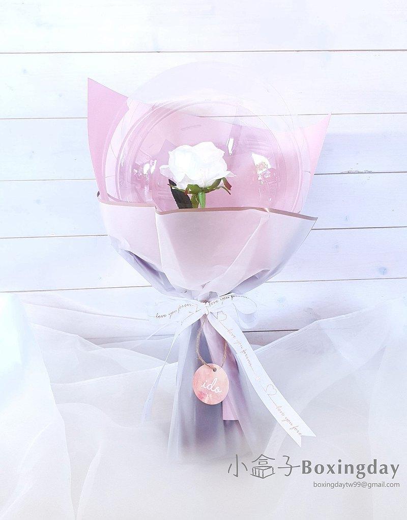 氣球花束(玫瑰款)/畢業禮/聖誕節禮物/生日禮/開幕禮