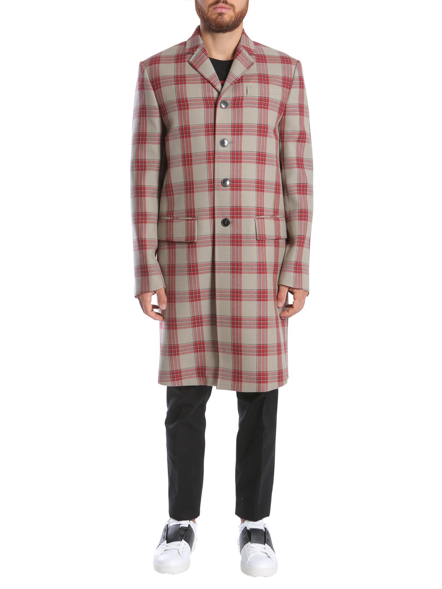 valentino jamie reid embroidered coat