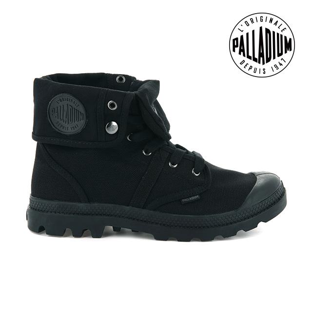 Palladium PALLABROUSE BAGGY帆布靴-男-黑