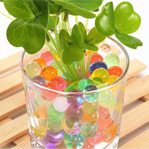 植栽多彩水晶寶寶 海綿水晶珠 吸水無土園藝栽培 2g 無毒無味