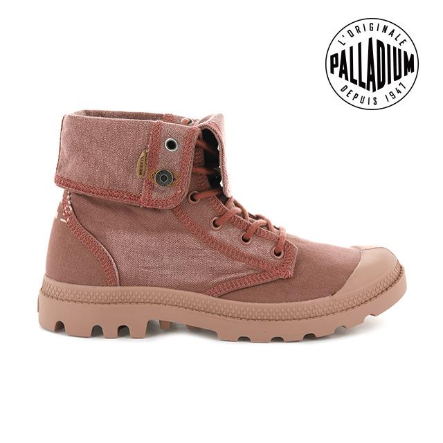 PALLADIUM PALLADENIM 單寧帆布靴 男 磚紅 76230-677