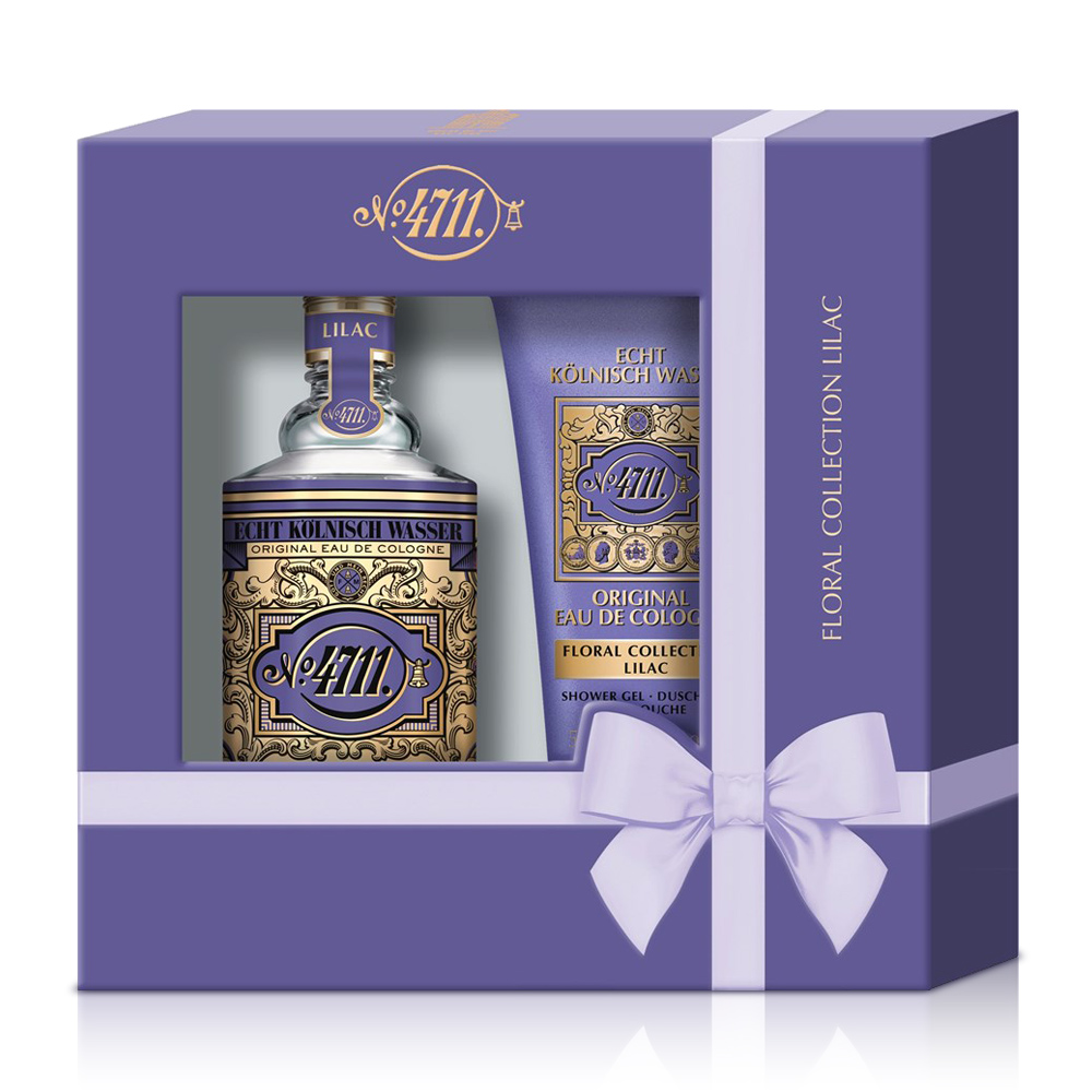 4711 Floral Collection 紫丁香古龍水禮盒  古龍水100ml+沐浴膠50ml