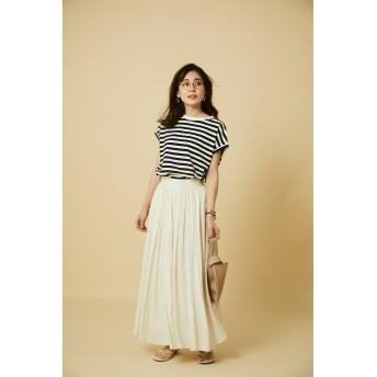 MICANA(マイカーナ)/【AMERICANA】×【MICA&DEAL】ボリュームマキシスカート