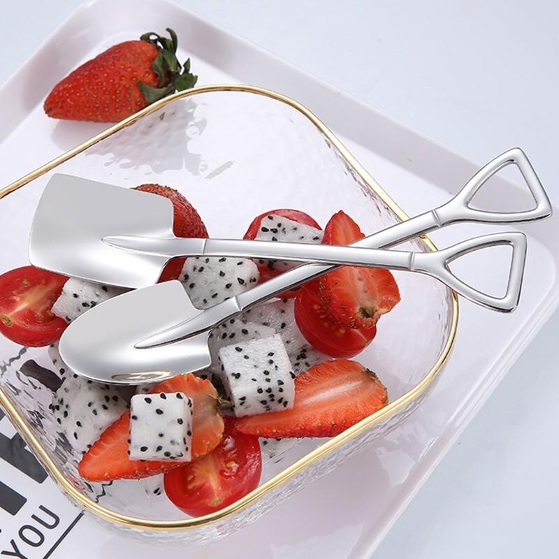 304不銹鋼創意雪糕冰淇淋攪拌小湯匙(一組2入)m1077alex shop