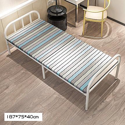 折疊床-曙亮折疊床單人床家用成人午休床簡易便攜隱形兒童床木板床午睡床 【快速】