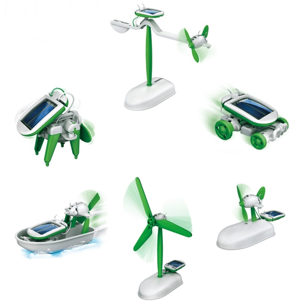 Pro'sKit 寶工科學玩具 6合1太陽能教育組 GE-610